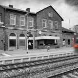 Einlaufender Regionalexpress am 31.03.2013
