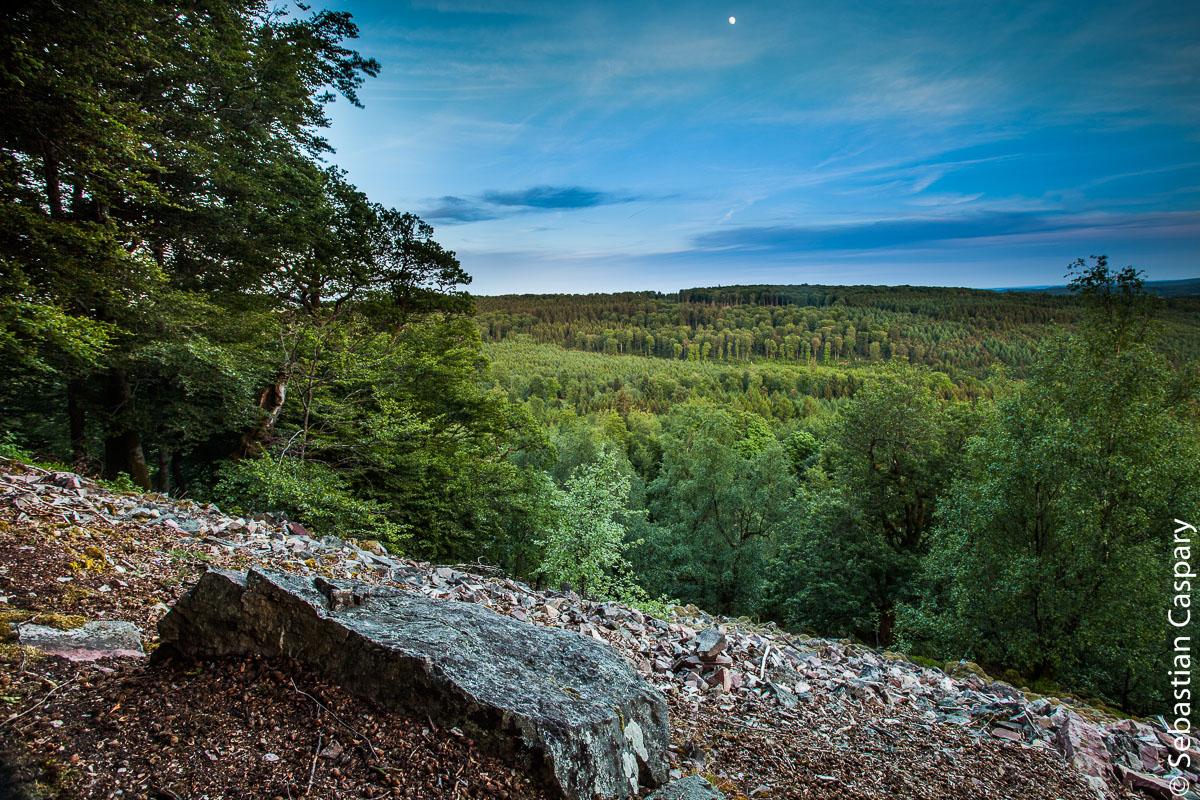 Nationalpark am Abend. Vorkastell Buhlenberg